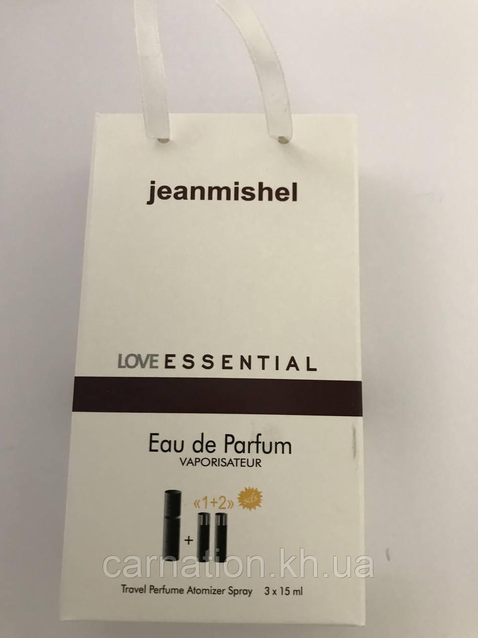 Подарунковий набір LoveEssential Jeanmishel 3*15 мл