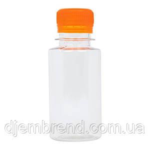 Бутылка пластиковая 100 мл - 0,1 л. Оптовые цены в розницу! с широким горлом Цена за 1 шт. с крышкой