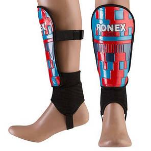 Щитки футбольні Ronex PRO, розм. S, синій. RX-PRO/S, фото 2