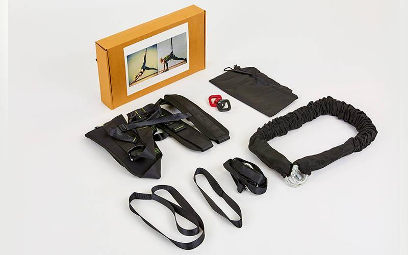 Тренажер для Банджи Фитнес BUNGEE FI-6900 (PL, резиновые жгуты, металл)