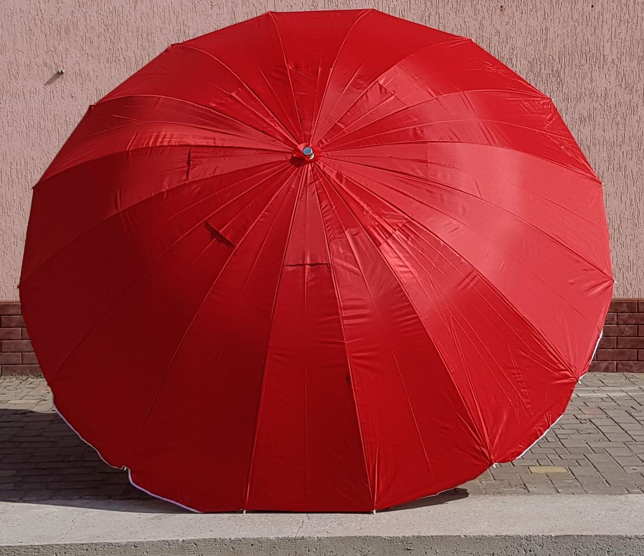 Зонт садовый торговый  Sansan Umbrella 096W  3 метра