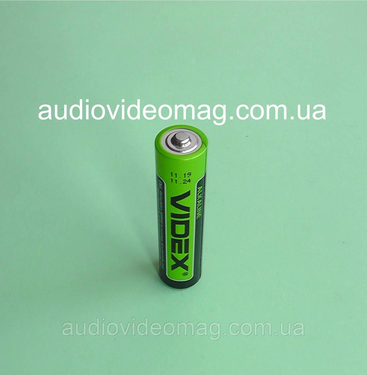 Батарейка VIDEX LR03 ААА 1.5 V лужна Alkaline микропальчиковая