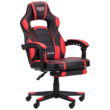 Кресло VR Racer Dexter Webster черный/красный