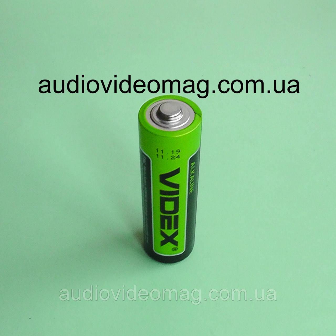 Батарейка VIDEX LR6 АА 1.5V щелочная Alkaline пальчиковая