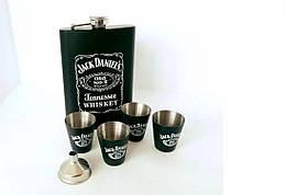 Подарочный набор Фляга Jack Daniсes Black (119258)