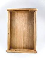 Поднос деревянный с ручками 27х44см