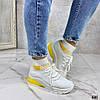 Код 636 Хайтопы REDY Материал: обувной текстиль Цвет: белый Размерность: 36-41 ( в размер )