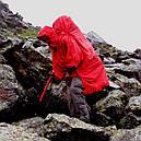 Дождевик-пончо с отделением для рюкзака Tatonka Cape Men (р.L), красный 2797.015, фото 4