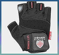 Перчатки спортивные для занятий в зале, на турнике, фитнесом, бодидилдингом, перчатки атлетические  L Black