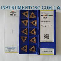 Токарные пластины ZCC-CT TCMT16T304-AHF YB6315 твердосплавные