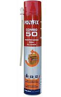 Пена монтажная  бытовая всесезонная/зима  850мл POLYFIX COMBO 50