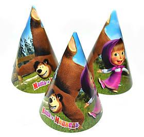 """Ковпак святковий """"Маша і Ведмідь"""", Колпак """"Маша и Медведь"""""""