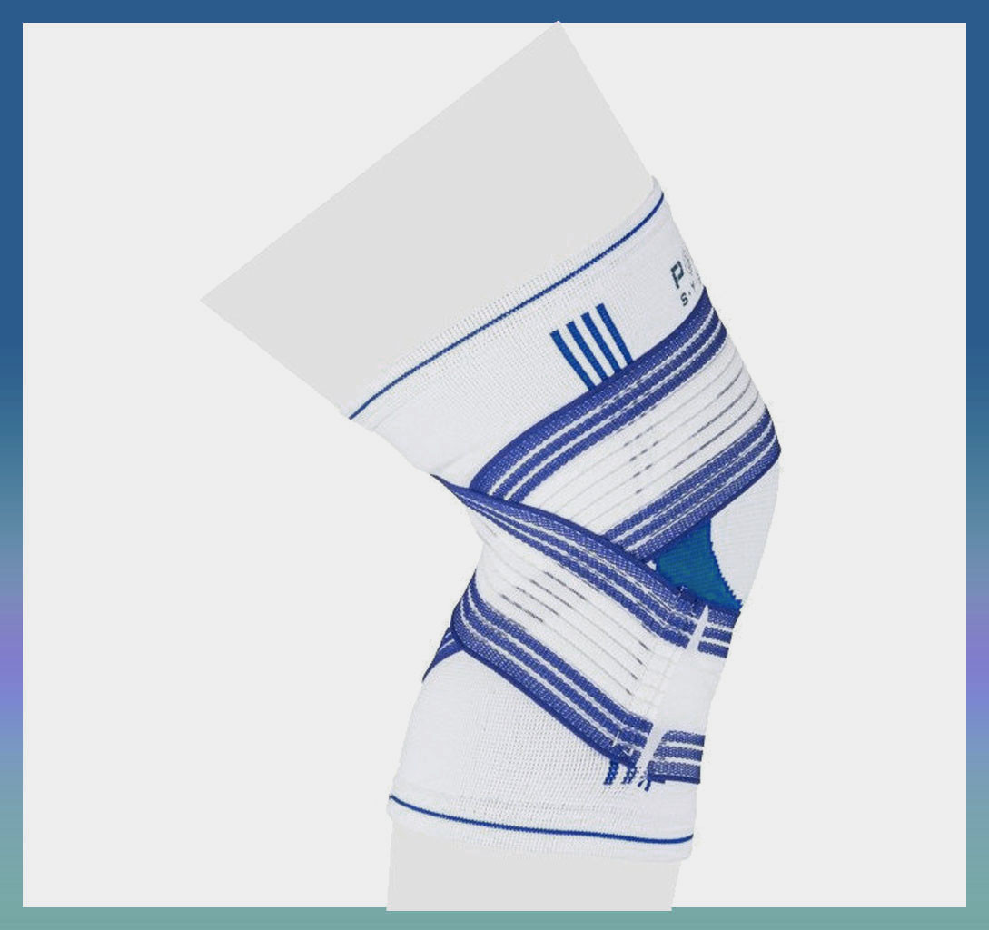Наколенник Knee Support Pro PS-6008 S/M Blue/White