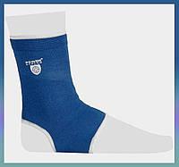 Бандаж для фиксации голеностопа / супорт голени XL Blue