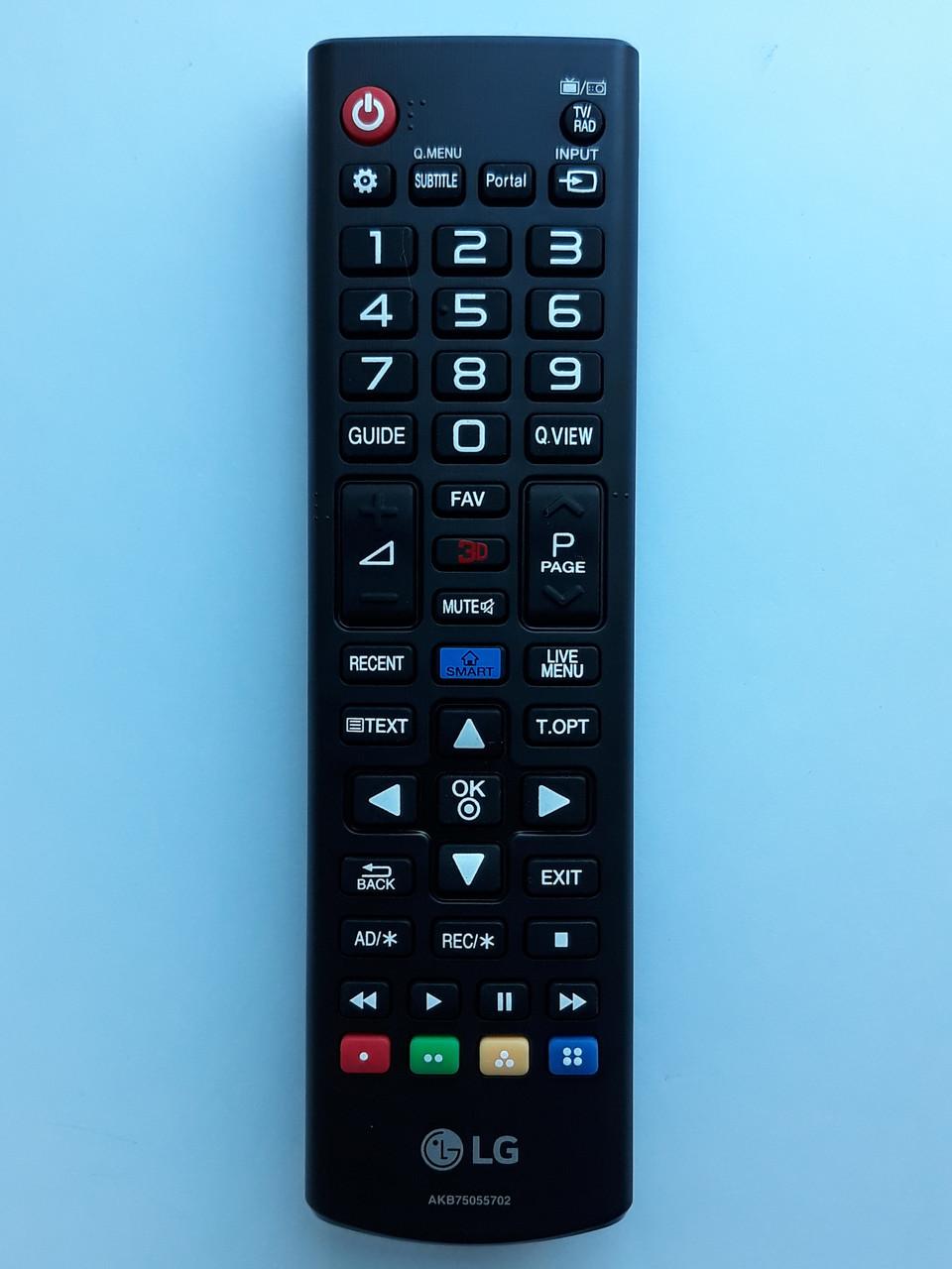 Пульт управления для телевизора LG AKB75055702
