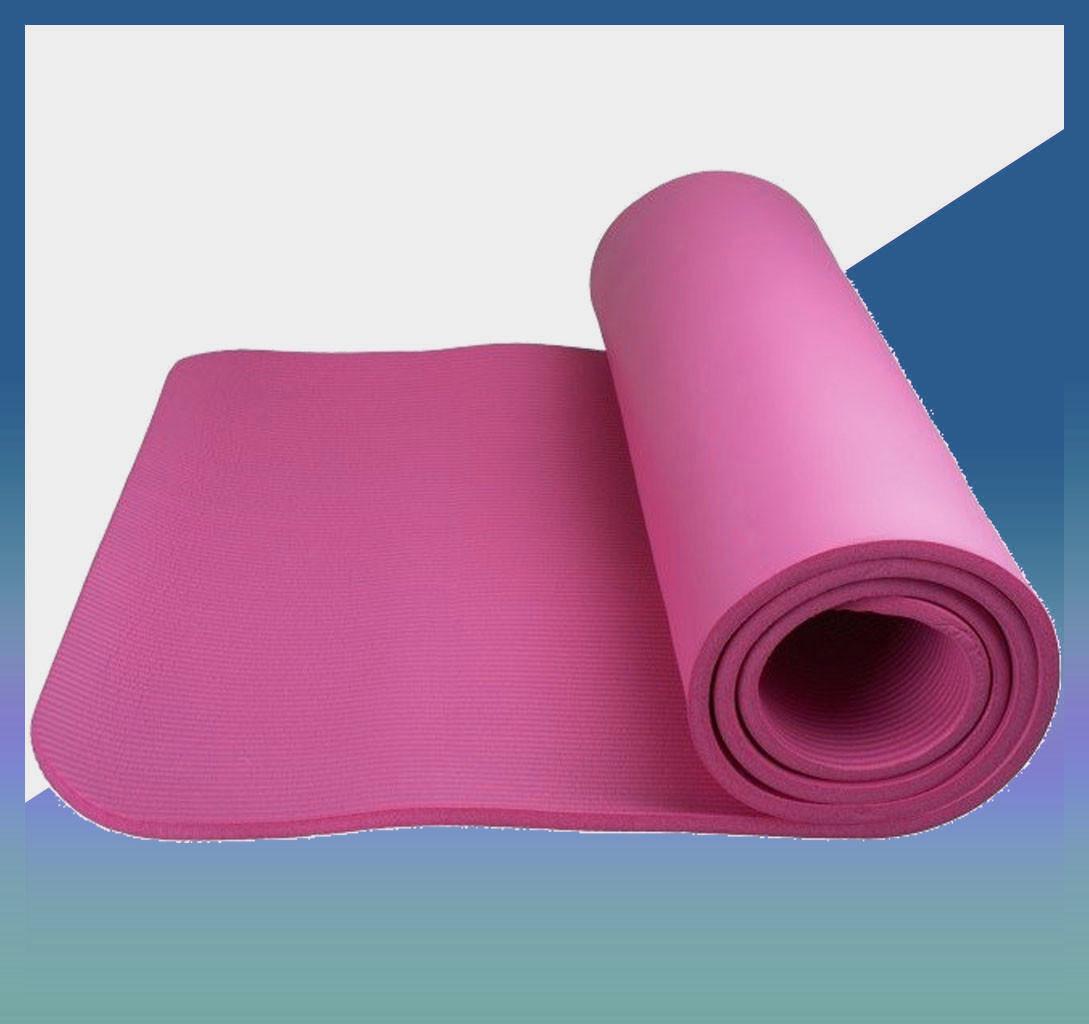 Коврик-мат для йоги и фитнесса ӏ йогимат FITNESS-YOGA MAT Pink