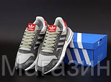 Мужские кроссовки adidas ZX 500 RM OG Colorway Grey Адидас ZX 500 серые, фото 3