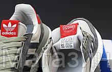Мужские женские кроссовки adidas ZX 500 RM OG Colorway Grey Адидас ZX 500 серые, фото 2