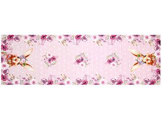 Гобеленовый раннер 40x140 см. Розовый Lefard, 711-084