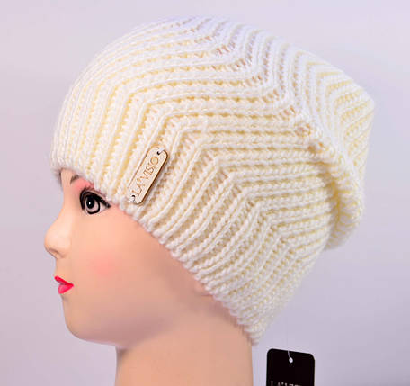 Женская вязаная шапка La Visio 168, фото 2