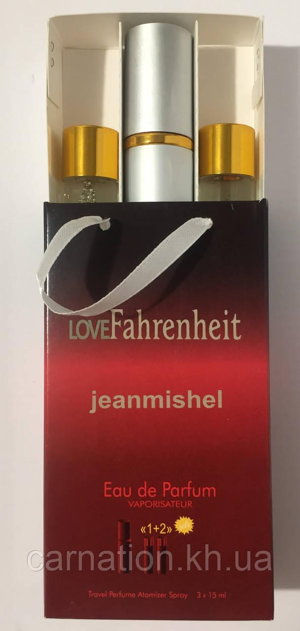 Подарочный набор LoveFahrenheit Jeanmishel 3*15 мл