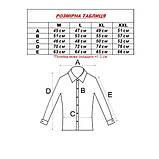 Сорочка чоловіча, приталена (Slim Fit), з довгим рукавом Birindelli 16-85 80% бавовна 20% поліестер M(Р), фото 3