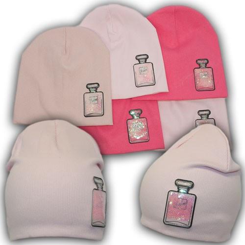 Детская шапка трикотажная, р. 50-52 на 4-6 лет