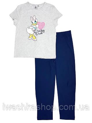 Хлопковая пижама с Дейзи на девочку 7 - 8 лет, р. 128, Primark