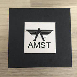 Коробочка с логотипом AMST Черная