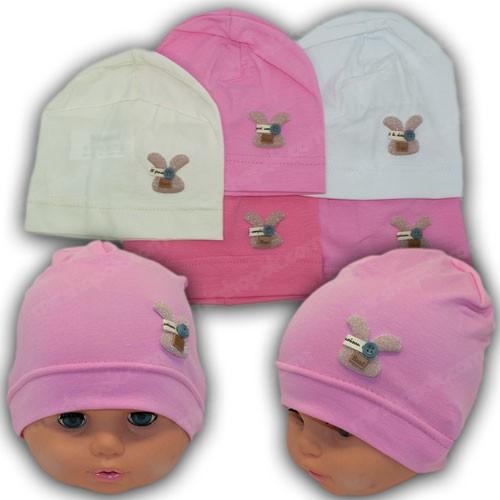 Трикотажные шапки для новорожденных, р. 36-38