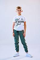 Детские спортивные штаны для мальчиков на рост 140,146,152,158