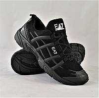 Кроссовки Empor!o Arman! - AE7 Мужские Чёрные Армани (размер 44)