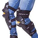 Комплект мотозащиты (колено, голень + предплечье, локоть) 4шт SCOYCO ICE BREAKER K17H17 (черный-желтый), фото 2