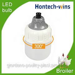 Освещение для птичников под ключ, освещение для бройлеров, диодная лампа HT19, 4700-5000К