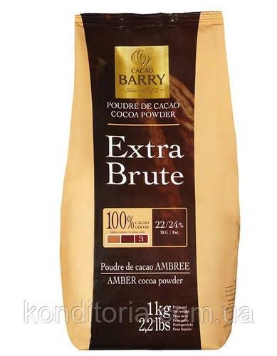 Алкализированное какао 22-24% Barry Callebaut Extra Brute 0.5кг.