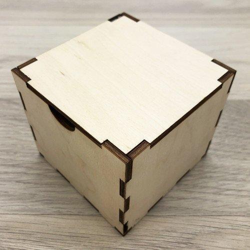 Коробочка деревянная без логотипа