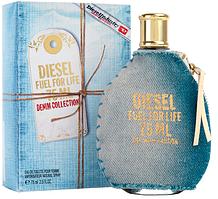 Женская туалетная вода Diesel Fuel For Life Denim Collection Femme - 75 мл
