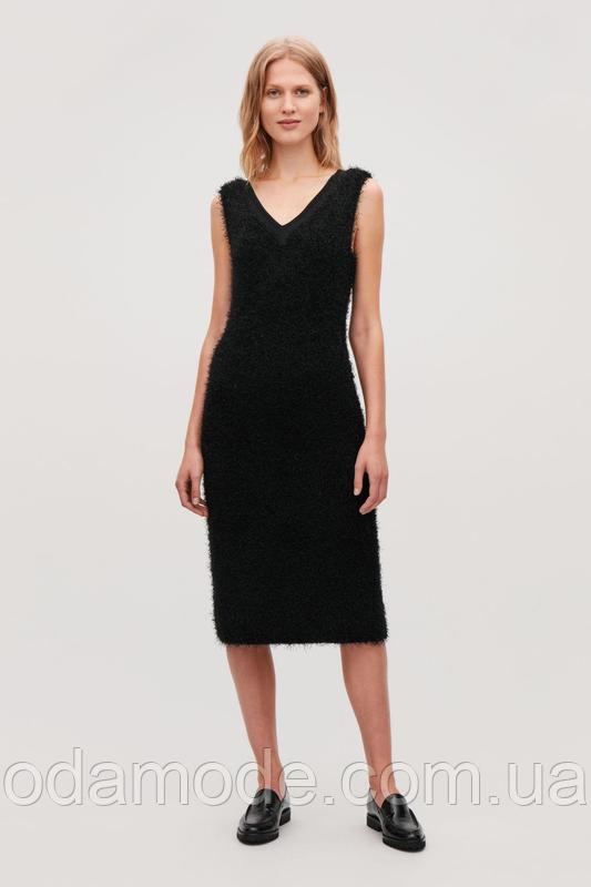 Платье женское травка чёрное СOS