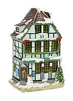 M18-370145, Декоративный новогодний домик с подсветкой, , разноцветный