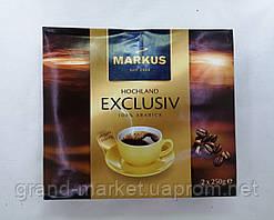 Кава мелена Markus Exclusiv 2*250g