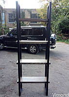 Стелаж Loft V-15, ЯСЕН, Ш800*В2000*Г300. Меблі лофт.