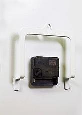 """Часы настенные лев - """"Аслан"""" (чёрные на белом фоне). Авторские дизайнерские настенные часы., фото 3"""