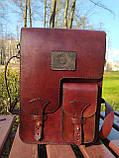 """Чоловіча сумка """"Патріот"""" з натуральної шкіри, фото 2"""