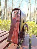 """Чоловіча сумка """"Патріот"""" з натуральної шкіри, фото 6"""