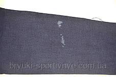 Джинсы женские с широкой золотистой полосой синие L - брак, фото 2
