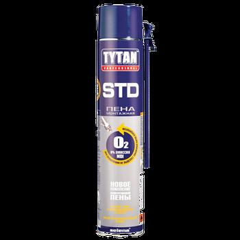 Монтажна піна О2 STD B3 500мл Tytan