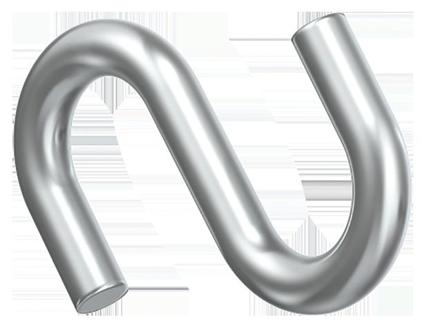Крюк S-образный 4мм, ИЕК [CLP1P-KS-5]