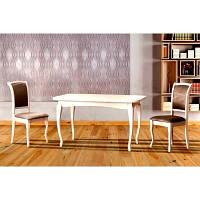 Стол обеденный раскладной СОРЕНТО (белый)