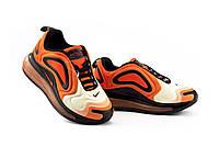 Женские кроссовки текстильные весна/осень оранжевые Ditof B 1154 -4, фото 1