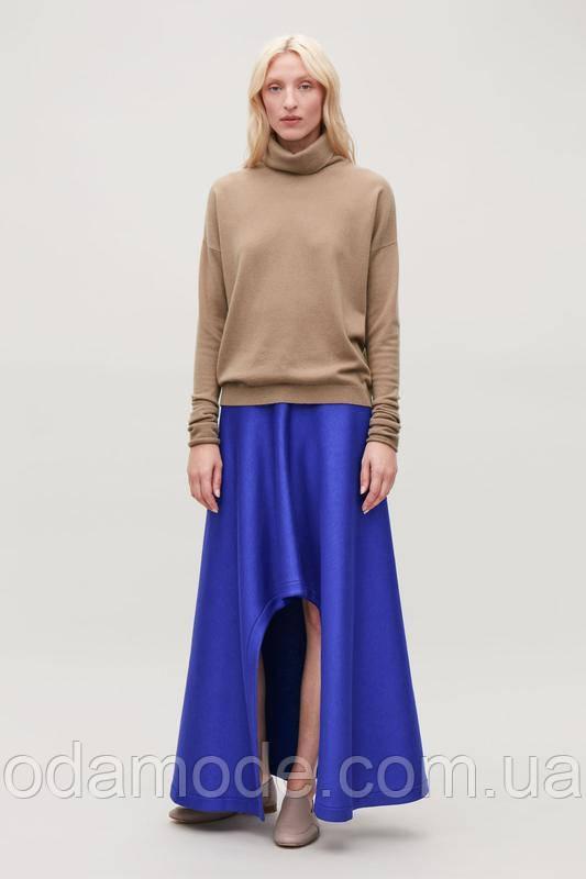 Юбка женская  стильная цвет электрик COS